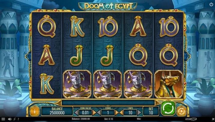 Doom of Egpyt från Play'N GO