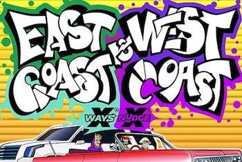 East Coast vs. West Coast från NoLimit City