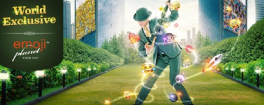 Du kan vinna 7500 kr per dag i Emojiplanet-tävling hos Mr Green