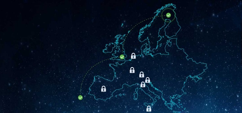 Europaturné – vinn norrskensresa