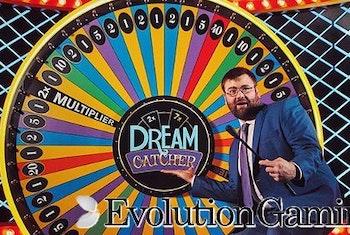 Evolution Gaming släpper Lyckohjulet Dream Catcher