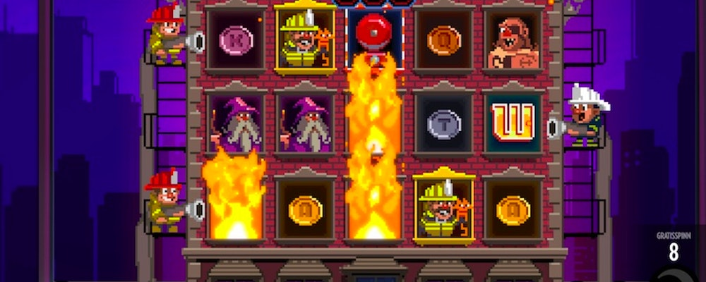 Thunderkick släpper Flame Busters - Hitta casino & spela här!