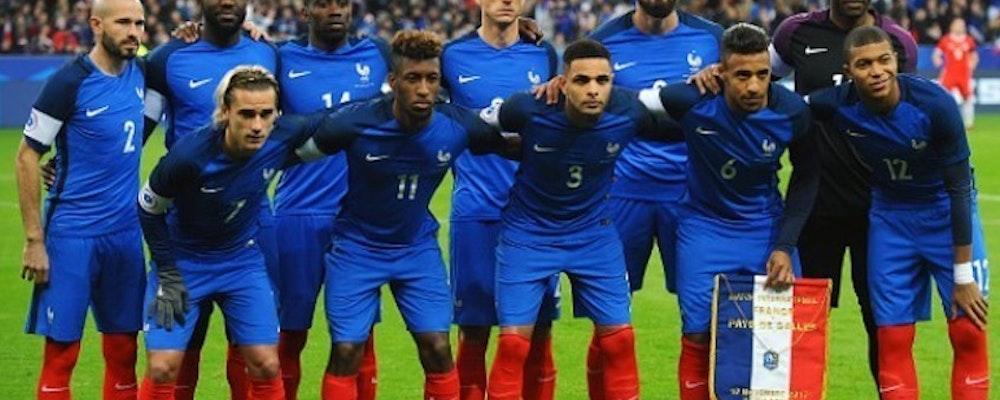 Inför matchen mellan Frankrike och Australien
