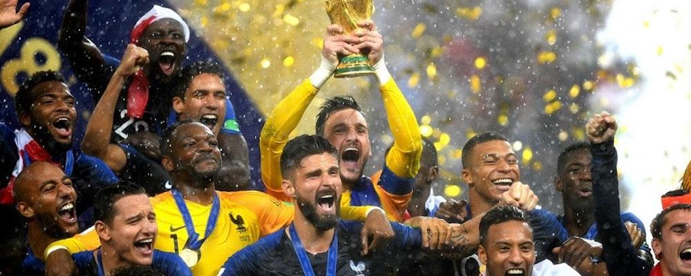Frankrike är världsmästare i fotboll