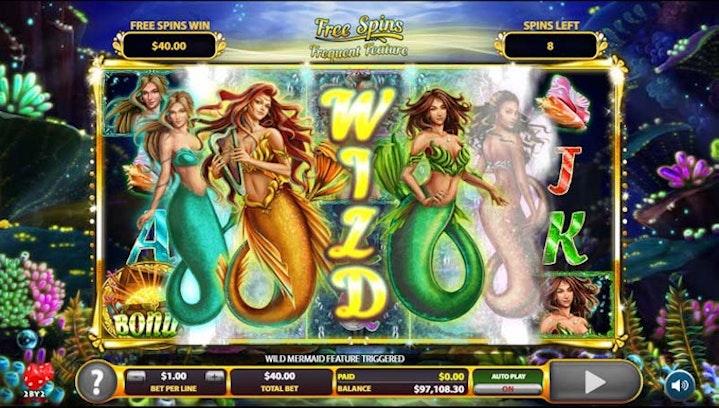 Golden Tides från 2 BY 2 Gaming