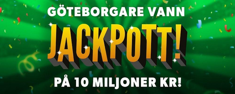 Göteborgare vann 10 miljoner kronor hos Rizk Casino