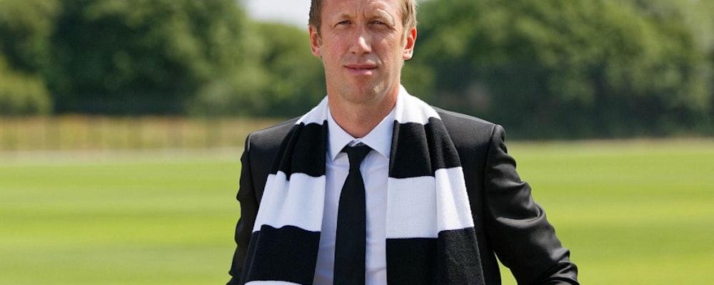 Graham Potter nöjd med flytten till Swansea