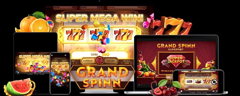Grand Spinn Slot från NetEnt