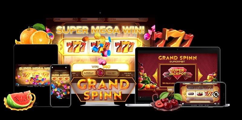 Grand Spinn Slot från NetEnt
