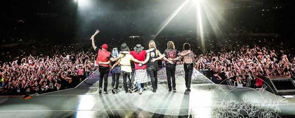 Deltag i uppdragen och vinn VIP-biljetter till Guns 'N Roses