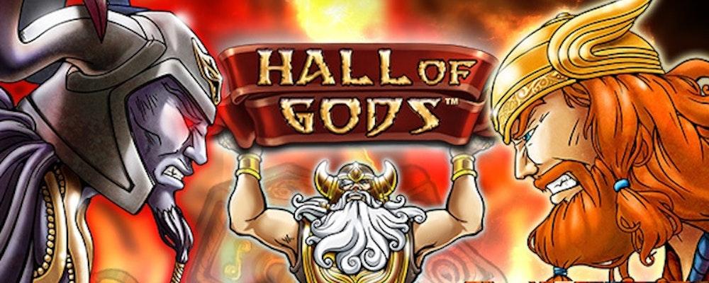 Hall of Gods jackpot uppe i över 60 miljoner - få freespins här!