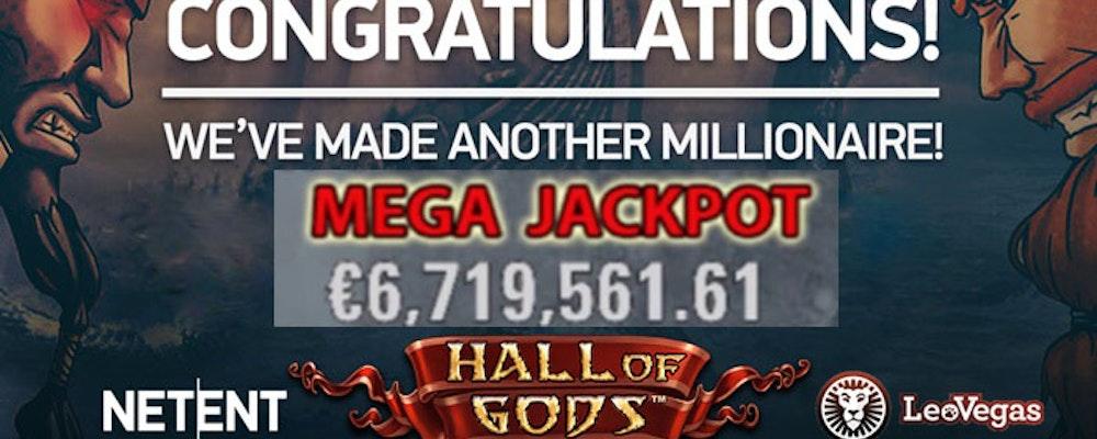 Mobilspelare vann 70 miljoner kronor i Hall of Gods
