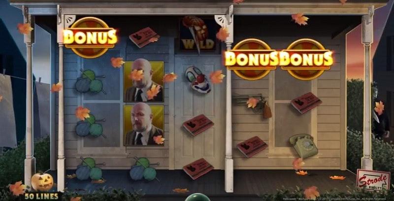 Tre bonussymboler aktiverar bonusfunktionen