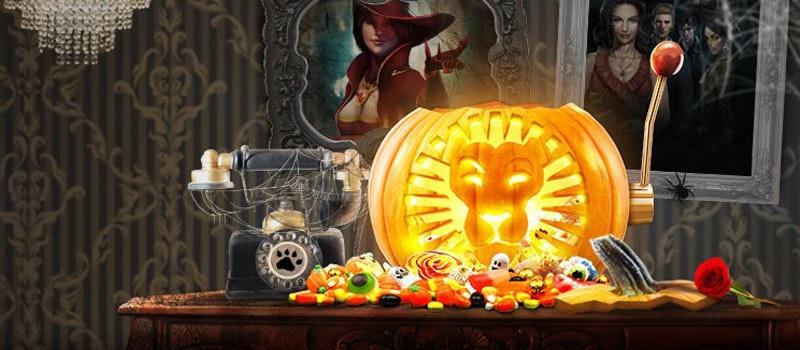 Halloween-kampanj hos Leo
