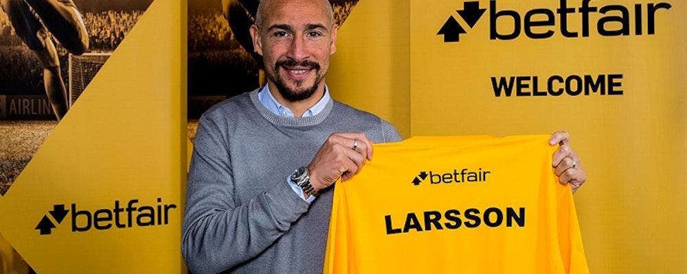Henrik Larsson blir ambassadör för spelbolag