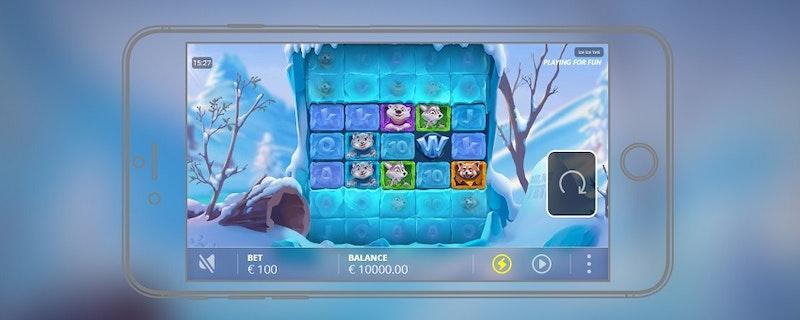 Ice Ice Yeti - det nya spelet från NoLimit City