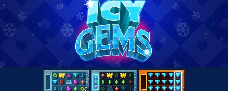 Spelleverantören Just For The Win släpper nya spelet Icy Gems