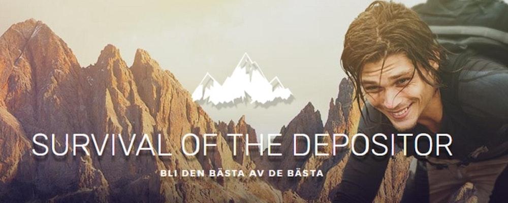 Bli den bästa av de bästa i Survival of the Depositor