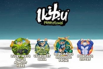 Massor av pågående tävlingar hos Ikibu Casino