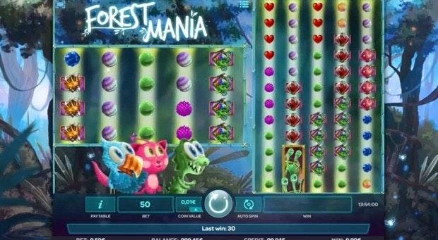 Forest Mania: Ny slot från iSoftbet med 1000 vinstrader