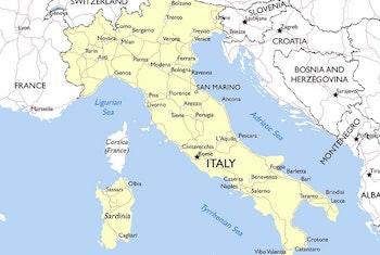 Civilministern besöker Italien