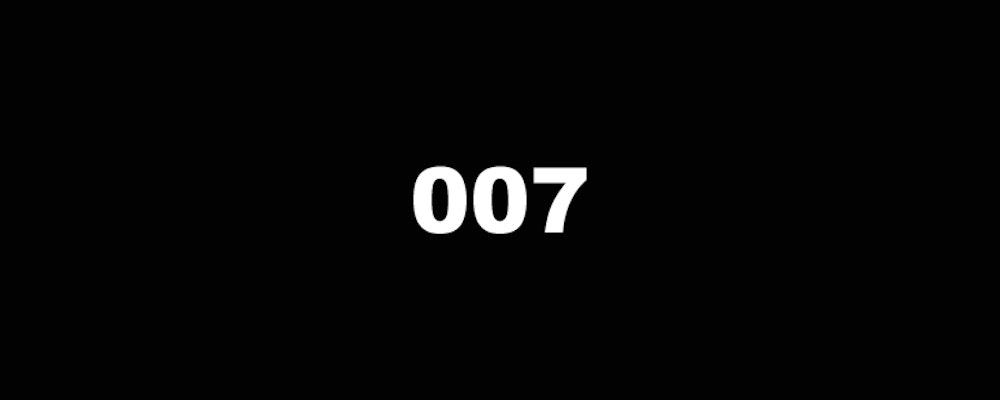 Spela som James Bond (går det ens?)