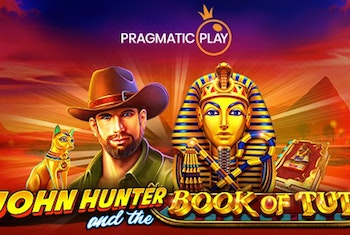 John Hunter and the book of Tut från Pragmatic Play