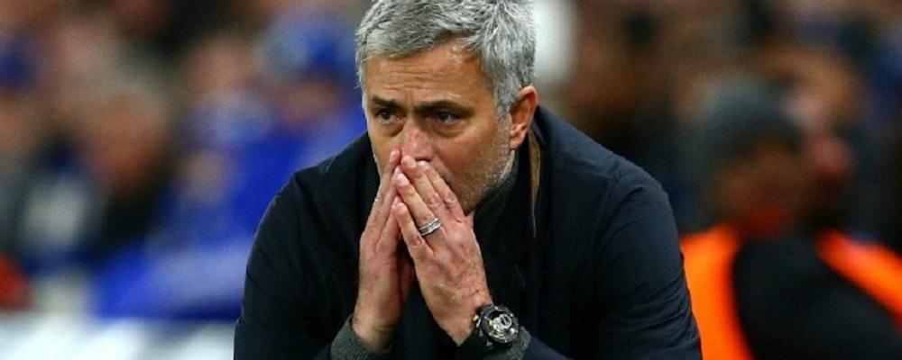 Mourinho fortsatt besviken efter Manchester Uniteds förlust