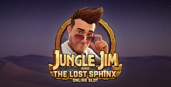 Jungle Jim And the Lost Sphinx från Microgaming