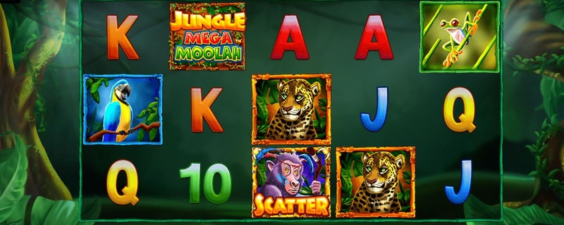 Jungle Mega Moolah från Microgaming