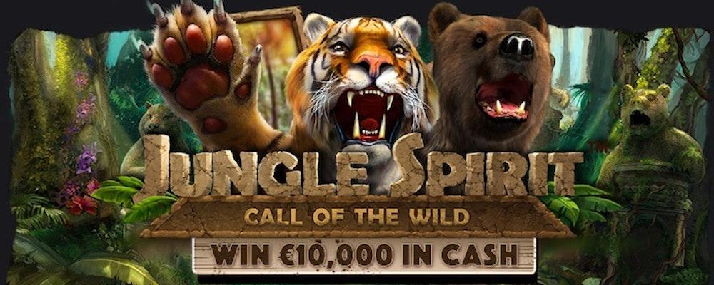 Storslagen djungeltävling med 100 000 kr i potten hos flera casinon