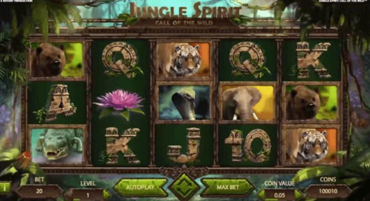 Snabbtitt på kommande slot från NetEnt: Jungle Spirit