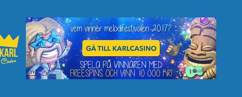 Tippa Melodifestivalen genom att spela på slots