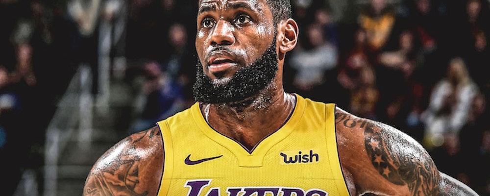 LeBron James går till Los Angeles Lakers
