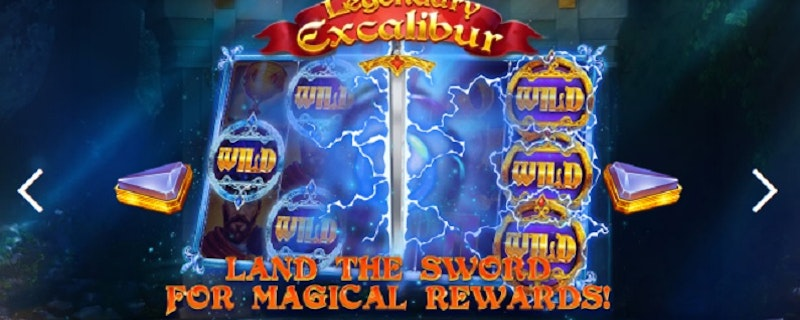 Legendary Excalibur från Red Tiger Gaming
