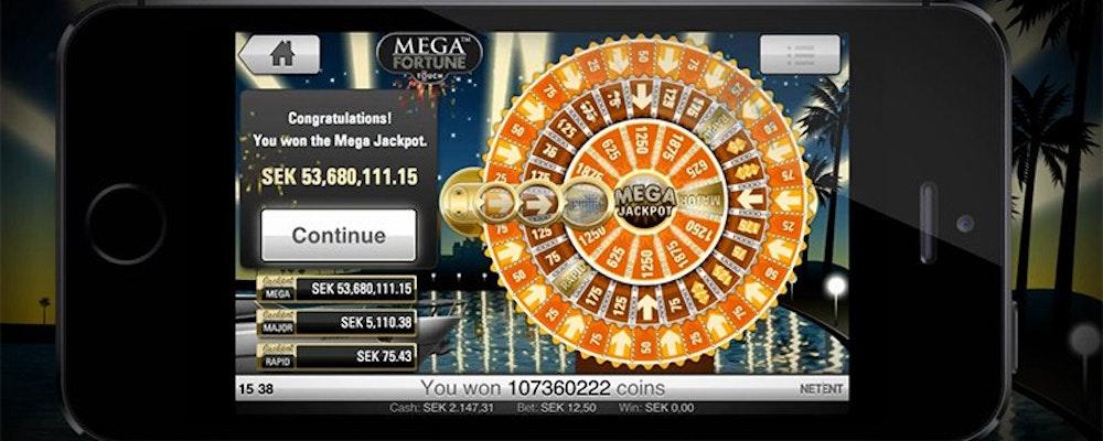 Stefan vann 53 miljoner kronor på mobilen!