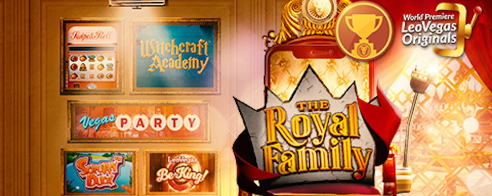 Leo Vegas Originals lanserar Royal Family