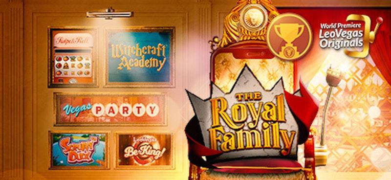 Leo Vegas Originals lanserar Royal Family