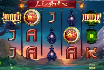 Få 7 free spins på Lights