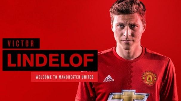 Victor Nillson-Lindelöf debuterar i Manchester United
