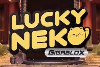 Lucky Neko Gigablox från Yggdrasil