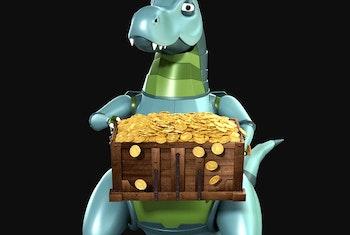 Värdefulla snurr i Dino Rewards