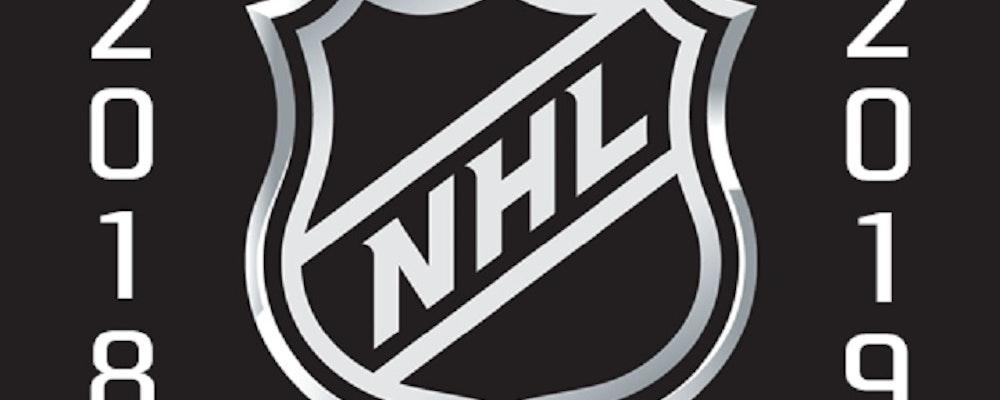 Hockeyfest i NHL på måndagen den 8 oktober 2018