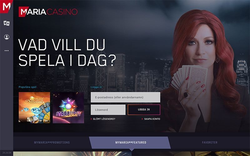 Nya Maria Casino är äntligen här!