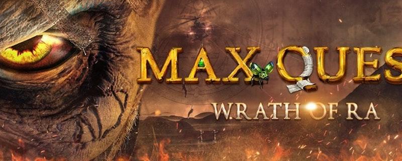 Max Quest: Wrath of Ra - En helt ny typ av slot