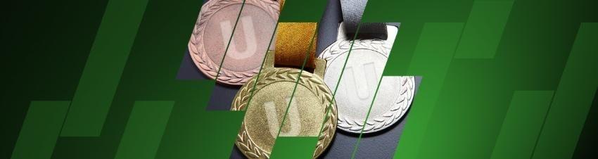Även du kan få en medalj hos Unibet