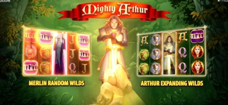 Mighty Arthur från Quickspin