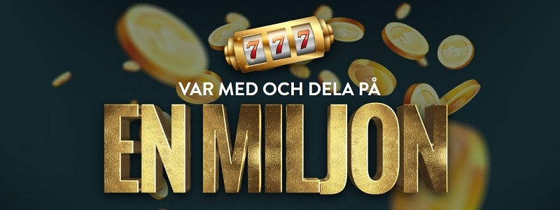 Just nu: 1 miljon till nya spelare