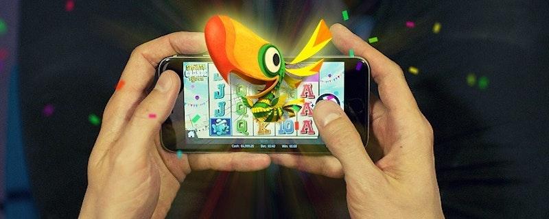 Spel hos casinon i mobilen ökar när sommartider närmar sig