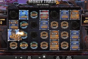 Spelare vann över 650 000 kr på Money Train 2